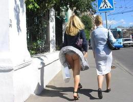 Upskirt Voyeur students in lingerie gelery Image 5
