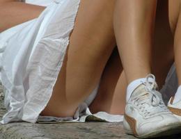 Candid student upskirt panty shots images Image 4