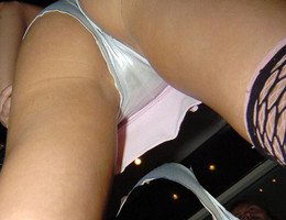 A teen girl in upskirt photos Image 2