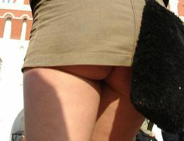 A teen girl in upskirt photos Image 3