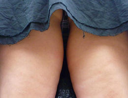 A teen girl in upskirt photos Image 4