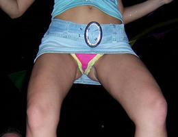 A teen girl in upskirt photos Image 7