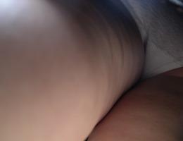 A girl in panties in this upskirt gelery Image 6