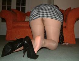 A girl in panties in this upskirt gelery Image 8