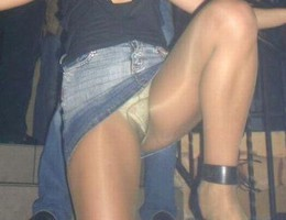 Nice upskirt in pantyhose gallery Image 6