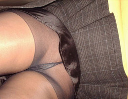 Nice upskirt in pantyhose gallery Image 8