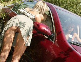 Nice upskirt in pantyhose gallery Image 9
