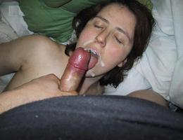 An amateur blowjob in these galery Image 6