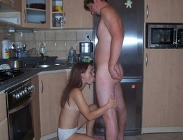 A lady amateur in blowjob action gelery Image 7