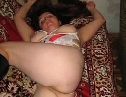 I love taking pics of my a little fat girlfriend on camera. Image 3