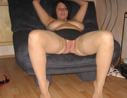 My naughty a little fat girlfriend gets naked for my new camera before hot fucking. Image 5