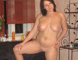 My naughty a little fat girlfriend gets naked for my new camera before hot fucking. Image 9