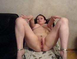 My a bit fat wife likes exposing her plump smelly pussy and boobs to my new camera. Image 1