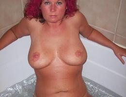 My new sexy a little fat wife gets naked for my new camera before sex. Image 3