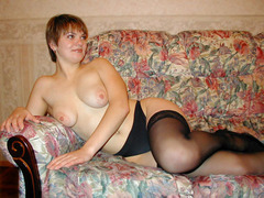 My cute ex GFs and my lustful luscious wife like wearing their favourite stockings while fucking. Image 5