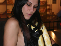 Our perfect cuties get too hot during their amazing strip performance that can't stop it turning into sex action! Image 6