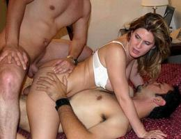 MMF theesome anal action photos Image 2