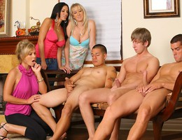 Fantastic Clothed Women and Naked Guys galery Image 5