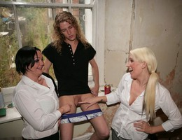 Fantastic Clothed Women and Naked Guys galery Image 6