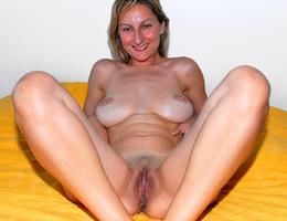 Lady with perfect tits and nipples and a lovely hairy pussy  gall Image 5