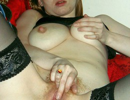 Busty slut with a hairy pussy photos Image 5