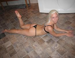 Posing in panties before sex gellery Image 1