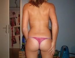 Posing in panties before sex gellery Image 4