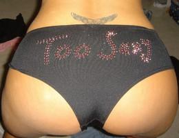 Posing in panties before sex gellery Image 5
