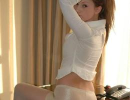 Ladies love to wear pantyhose on naked body images Image 5