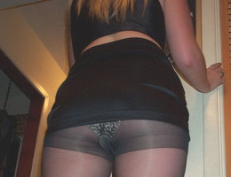 Ladies love to wear pantyhose on naked body images Image 7