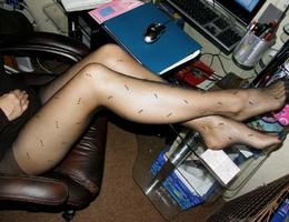 My lovely cuties posing in pantyhose mix galery Image 6