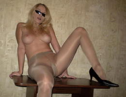 A chicks in pantyhose set Image 4
