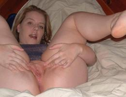 Sexy chubby blonde lady ahare her private photos galery Image 5