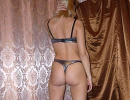 Teen in lingerie posing gal Image 1