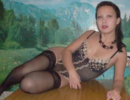 Teen in lingerie posing gal Image 3