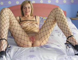 Teen in lingerie posing gal Image 5