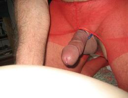 Perverse Crossdresser posing in Panties gellery Image 4