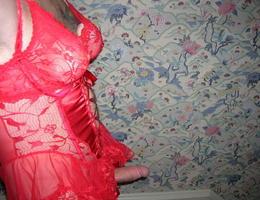 Perverse Crossdresser posing in Panties gellery Image 7