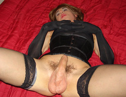 Crossdresser posing in beautiful lingerie gelery Image 9
