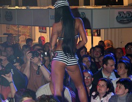 Sexiest porn model strip show gallery Image 1