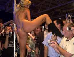 Hot ladies doing a gorgeous striptease show collection Image 8