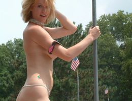 Sexiest porn model strip show gellery Image 4