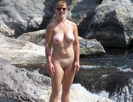 Hot Milf Stripping gal Image 7