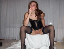 Amateur slut in lingerie gall Image 4