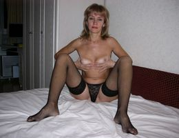 Amateur girl posing in lingerie series Image 6