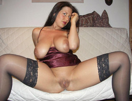 Amateur girl posing in lingerie series Image 8