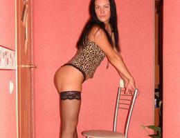 Busty teen slut in lingerie series Image 1