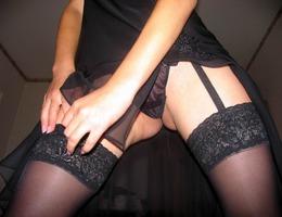 Busty teen slut in lingerie series Image 8