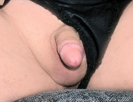 My small soft cock growing thicker shots Image 4