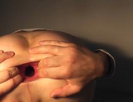 Man fisting asshole gall Image 9